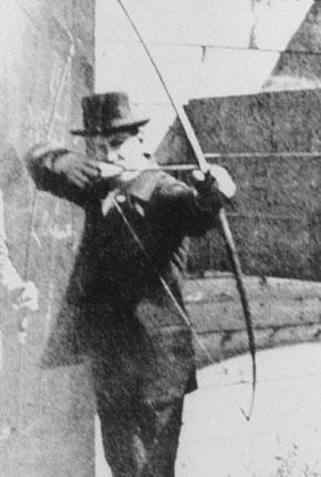 Международный день стрельбы из лука! Стрельба из лука на олимпиаде Париж 1900.